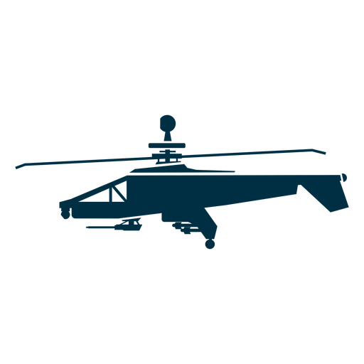Military Helicopter Silhouette Helicopter Icons