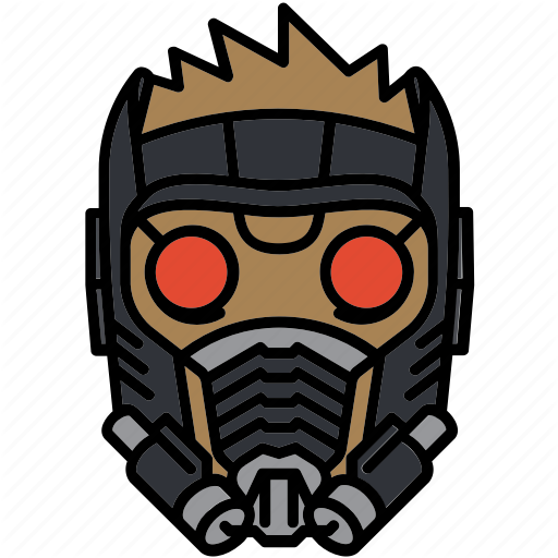 Guardian, Helmet, Marvel, Star Lord Icon