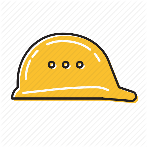 Helmet, Safety Helmet Icon