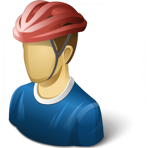 Iconexperience V Collection Bicyclist Icon