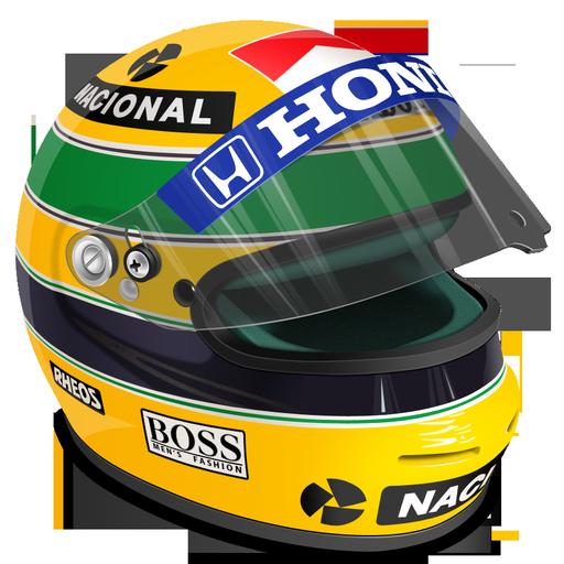 Senna Helmet Icon