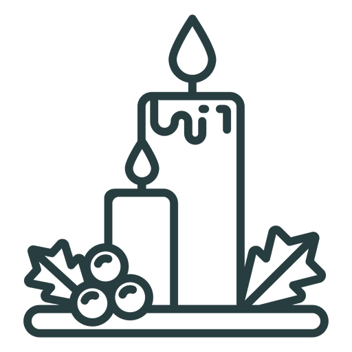 Christmas Candles Icon