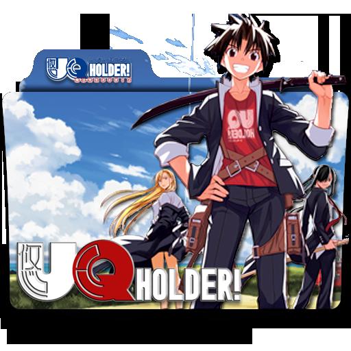 Uq Holder! Mahou Sensei Negima! Folder Icon