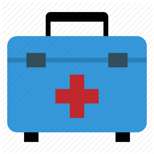 Aid, Bag, First, Hospital, Kit, Medical Icon