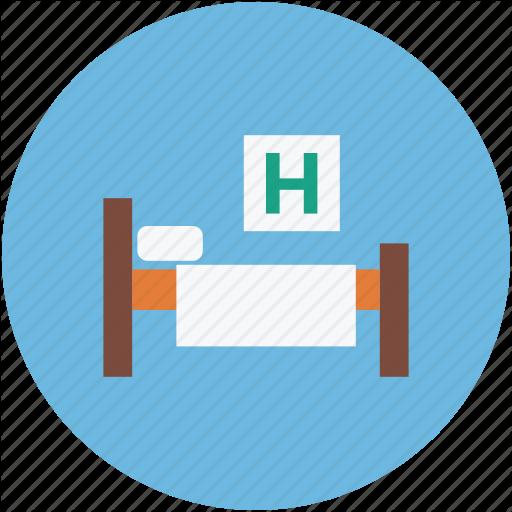 Healthcare, Hospital, Patient Bed, Patients Room Icon