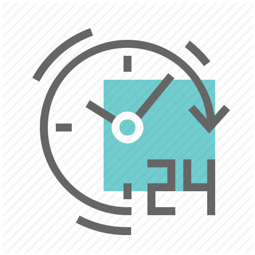 Clock, Opening, Shop, Working Hours Icon