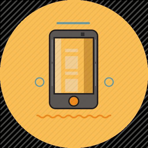 Electronic, Handphone, Hp, Smartphone Icon