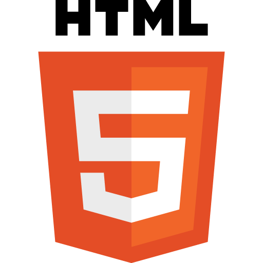 Five, Html, Logo, Icon
