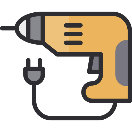 Drill, Construction, Technology, Tools And Utensils, Drilling