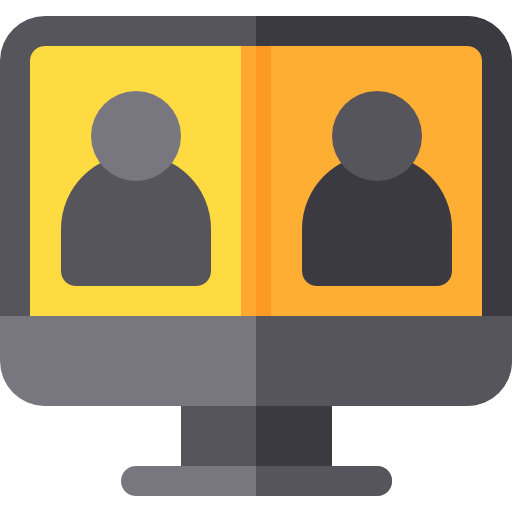 Video Conference Icon Discussion Freepik
