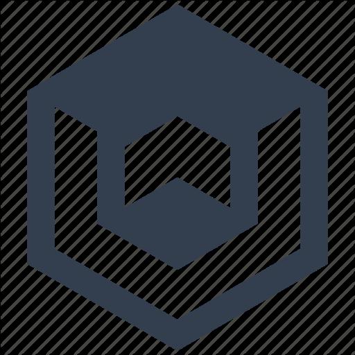 Cube, Graphic, Isometric, Perspective Icon