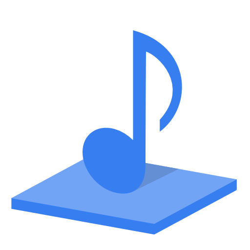 System Library Music Icon Plex Iconset