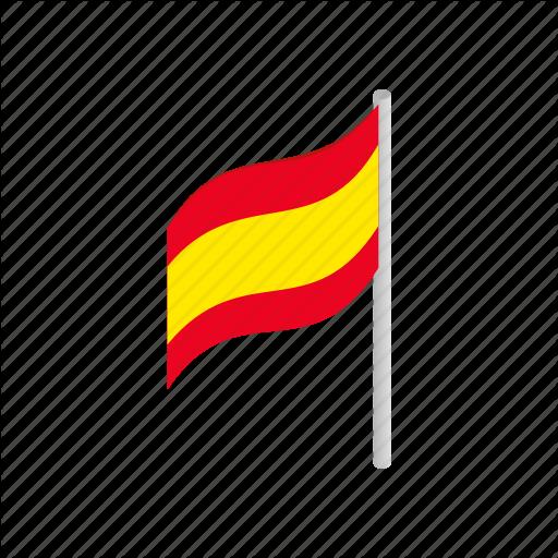 Country, Flag, Isometric, National, Patriotism, Spain, Spanish Icon