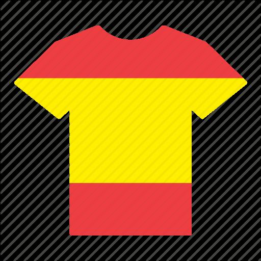 Country, Flag, Jersey, Shirt, Spain, Spaniard, Spanish Icon