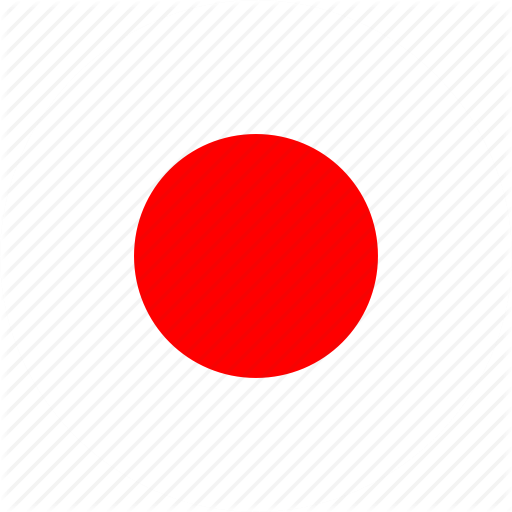 Asia, Country, Flag, Japan, Nation, Round Icon