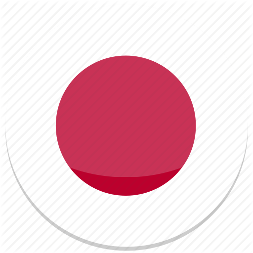 Circle, Flag, Flags, Japan, Round Icon