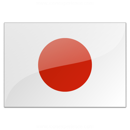 Iconexperience V Collection Flag Japan Icon
