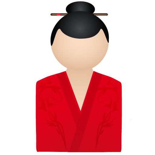 Japan Red Icons, Free Icons In Geisha