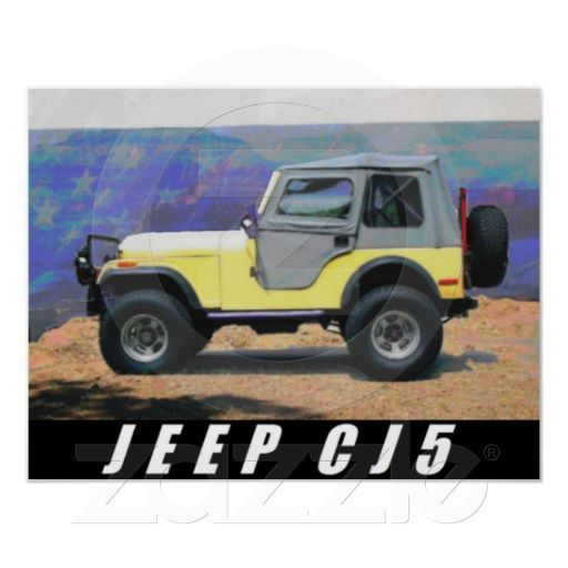 Jeep Poster Jeep An American Icon