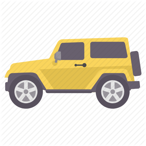Car, Jeep, Road, Transport, Transportation, Van, Vehicle Icon