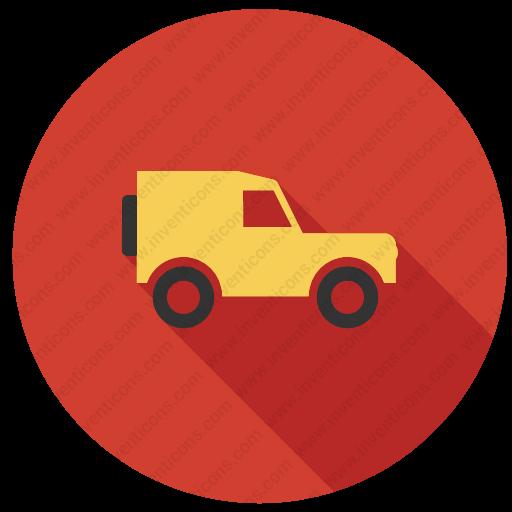 Download Jeep,vehicle,transport,transportation,tourism Icon