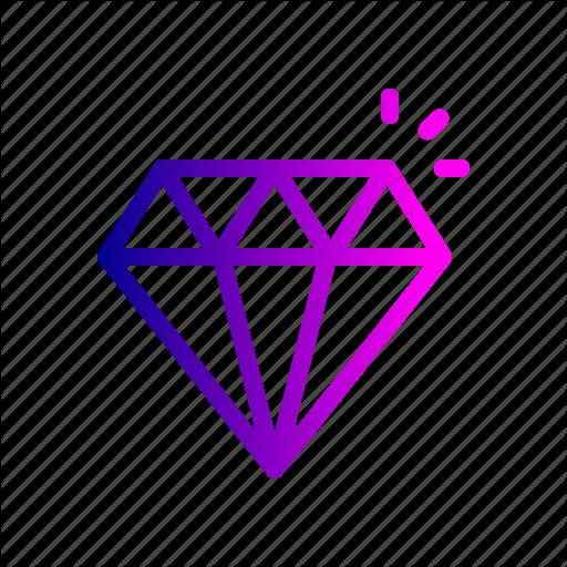 Costly, Diamond, Gems, Jewelry, Lounge, Luxury, Stone Icon