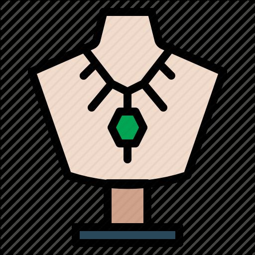 Diamond, Gem, Jewelry, Necklace Icon