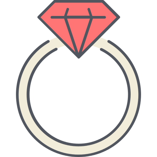 Engagement Ring Jewelry Png Icon