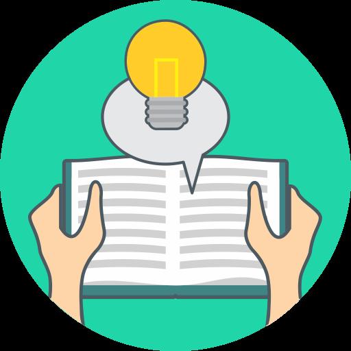 Book, Energy, Idea, Knowledge Icon