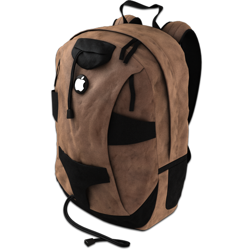 Backpack Brown Icon