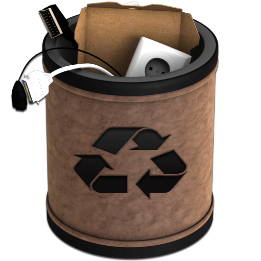 Full Leather Recycling Icon