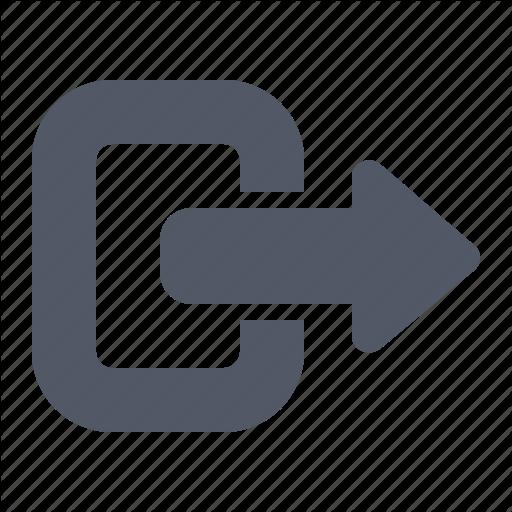 Arrow, Exit, Leave Icon