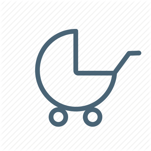 Baby, Leave, Perks, Stroller Icon