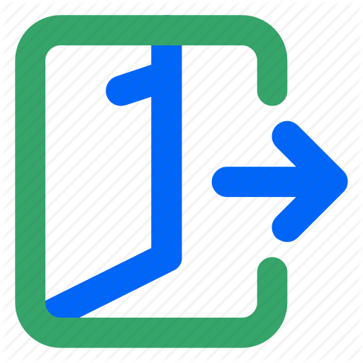 Exit, Leave, Log Out, Logout, Sign Out, User, Web Icon