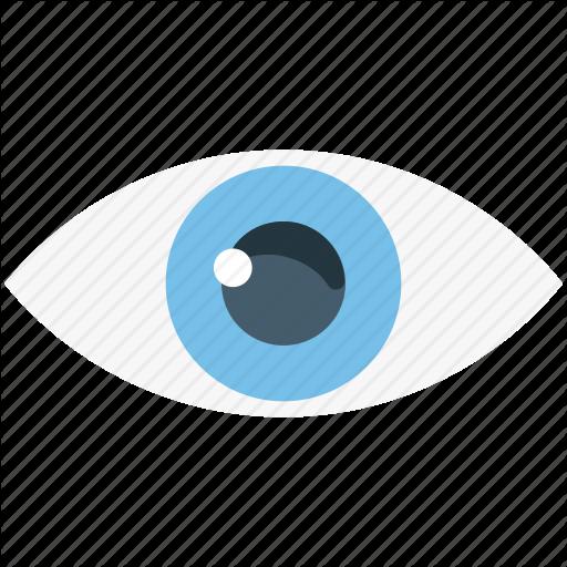 Eye Lens, Finger, Lens, Lense On Finger, Optical Lens Icon