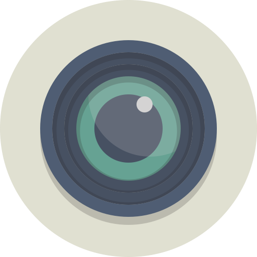Lens, Photography, Camera Icon