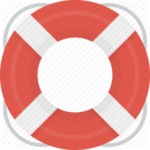 Help, Lifesaver, Support Icon
