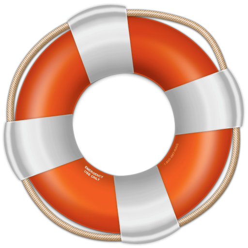 Lifesaver, Help, Support Icon