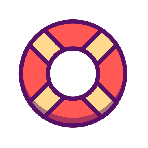 Lifesaver, Float Icon Free Of Summer Holidays