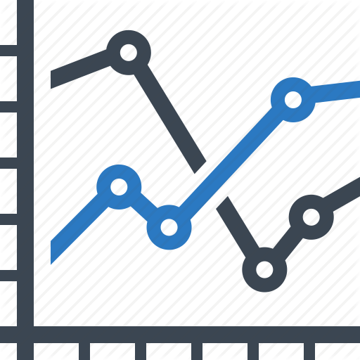Analytics, Chart, Finance Report, Line Graph, Statistics Icon