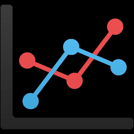 Line Chart Icon Flatastic Iconset Custom Icon Design