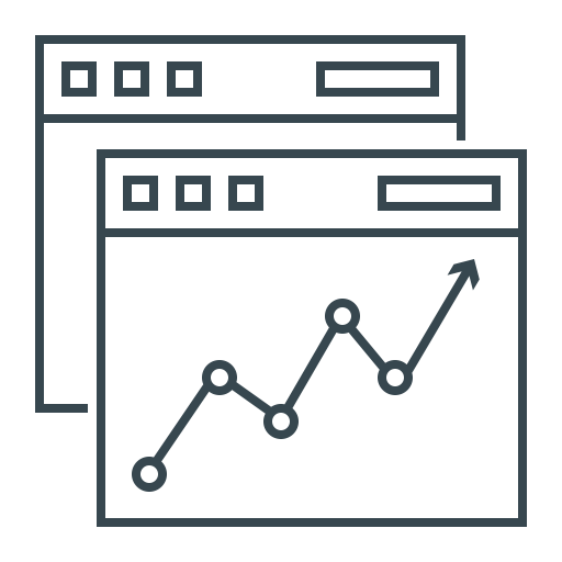 Thin Line Icons For Seo And Development