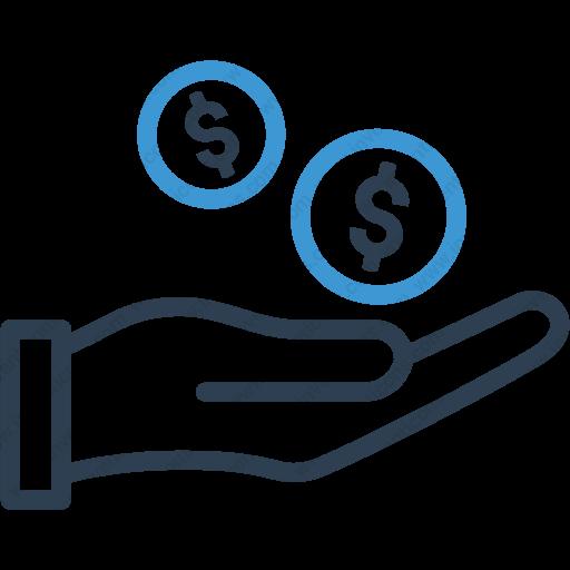 Download Dollar With Hand,banking,coin,dollar,finance,hand,loan