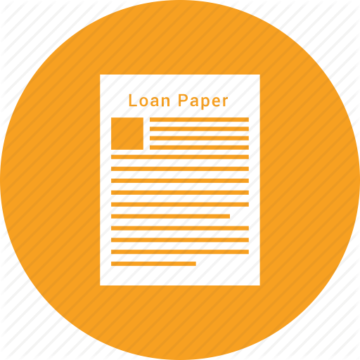 Loan Application Icon Free Icons