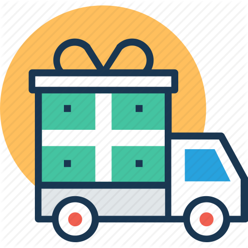 Delivery Service, Delivery Van, Festive Delivery, Gift Delivery