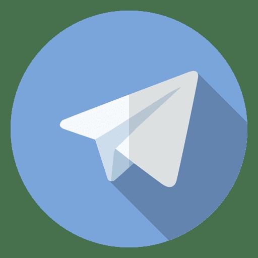 Telegram Icon Logo