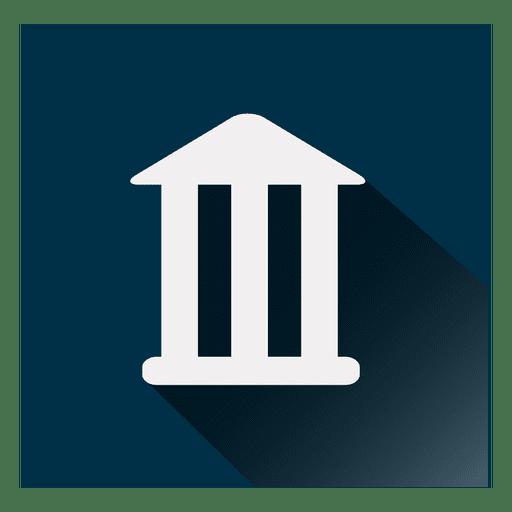 Bank Square Icon