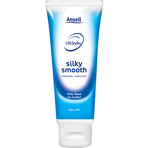 Ansell Life Styles Personal Lubricant Silky Smooth Tube