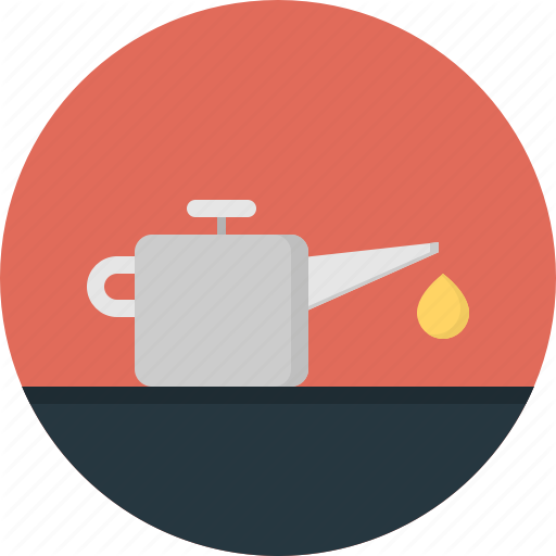 Container, Drop, Fuel, Industry, Liquid, Lubricant, Oil Can Icon