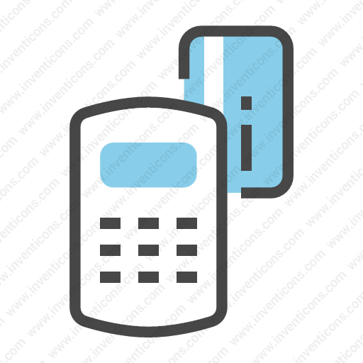 Download Credit,card,machine Icon Inventicons